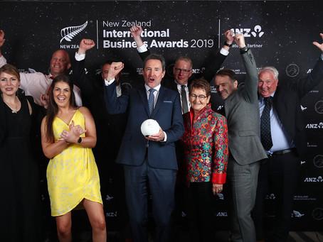 NZM wins Supreme Award at 2019 New Zealand International Business Awards