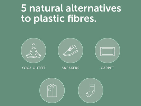 5 Natural Alternatives to Plastic Fibres