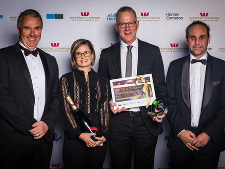 NZM takes out export win at Westpac Champion Canterbury Awards