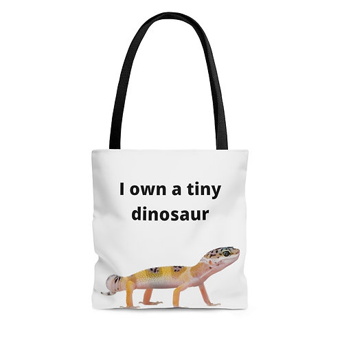 Tiny Dinosaur Tote Bag