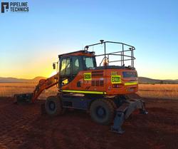 Doosan 14T Wheeled Excavator