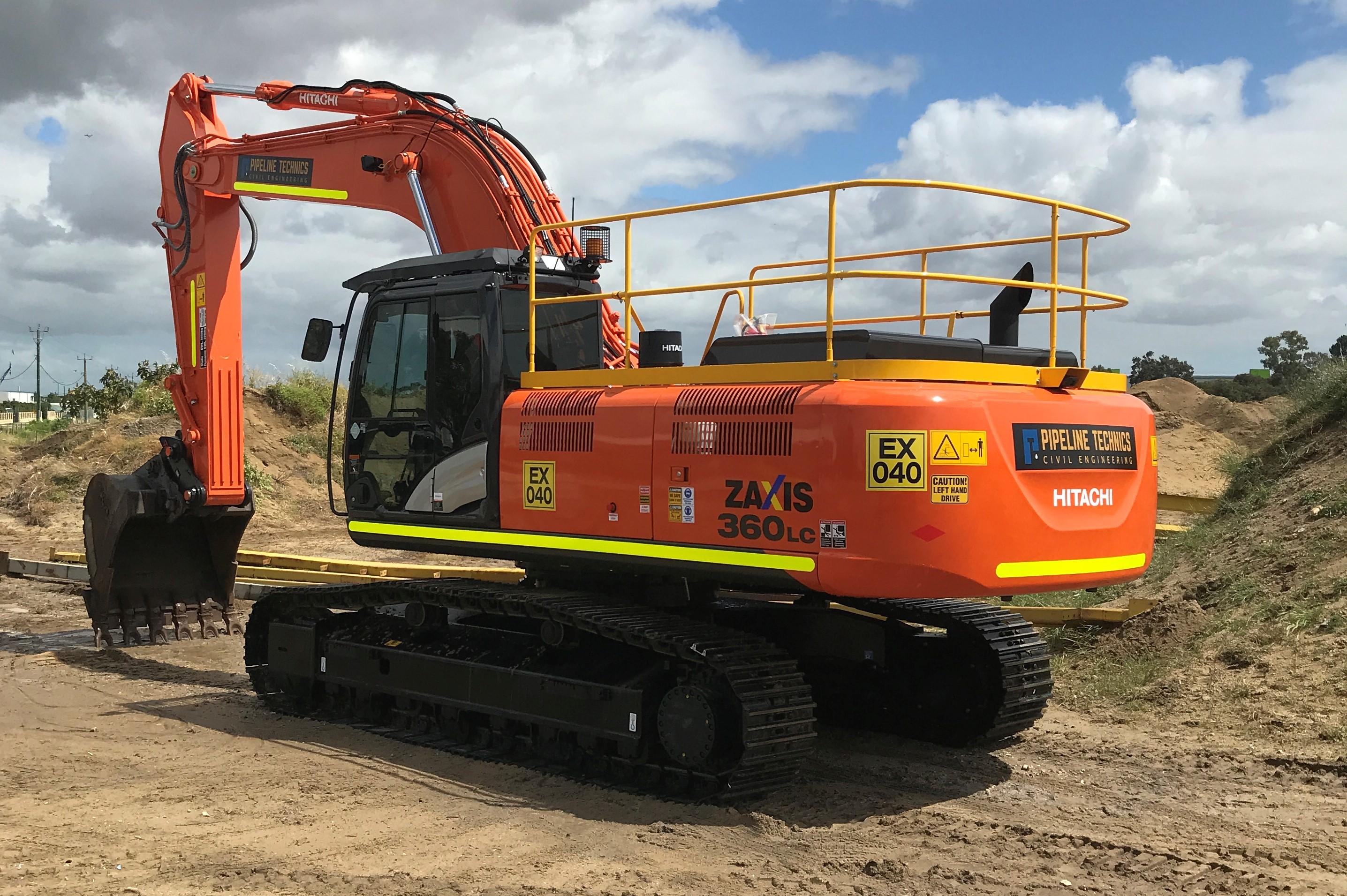 Hitachi Excavator 35T