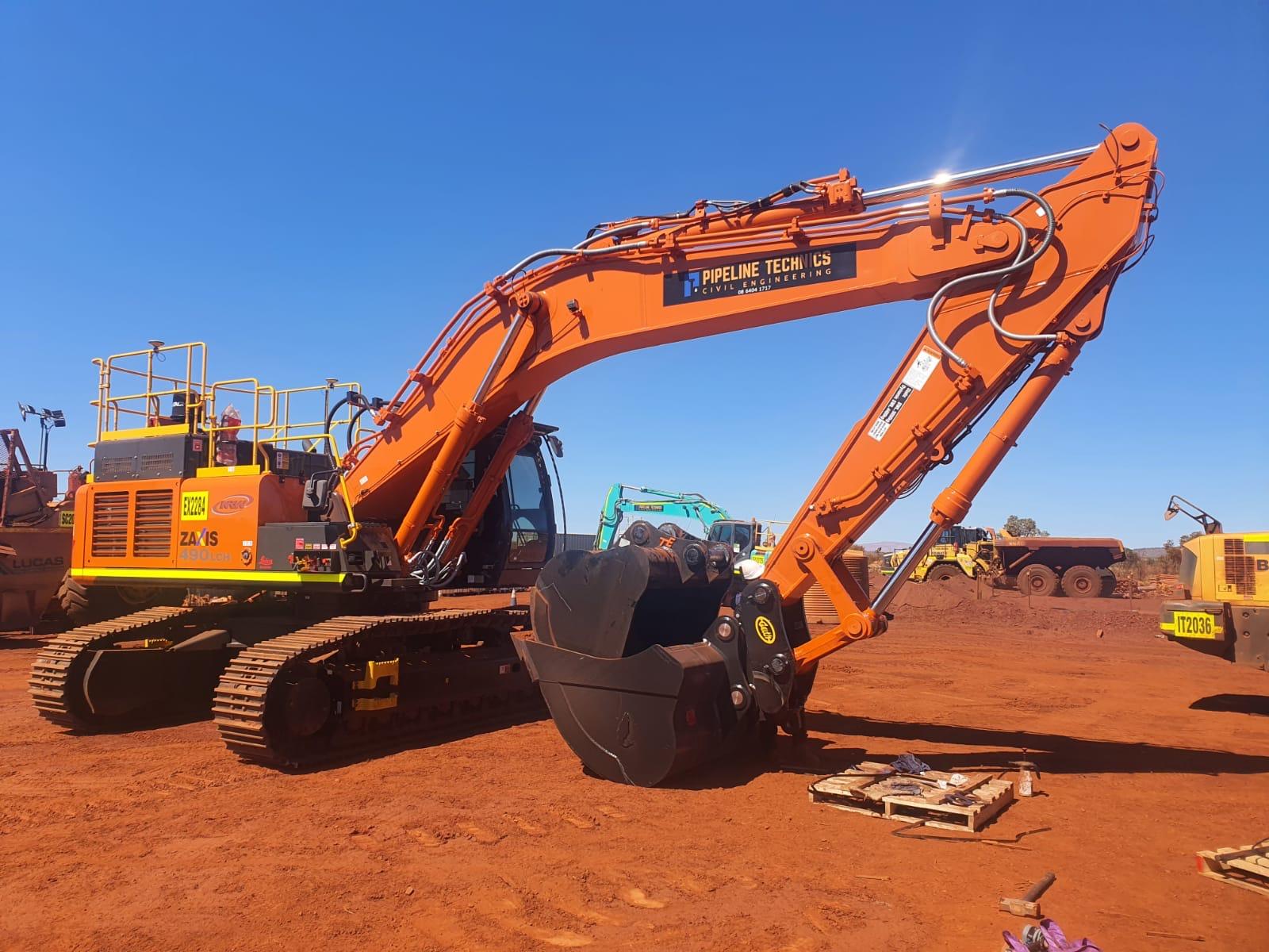 Hitachi 50T Excavator