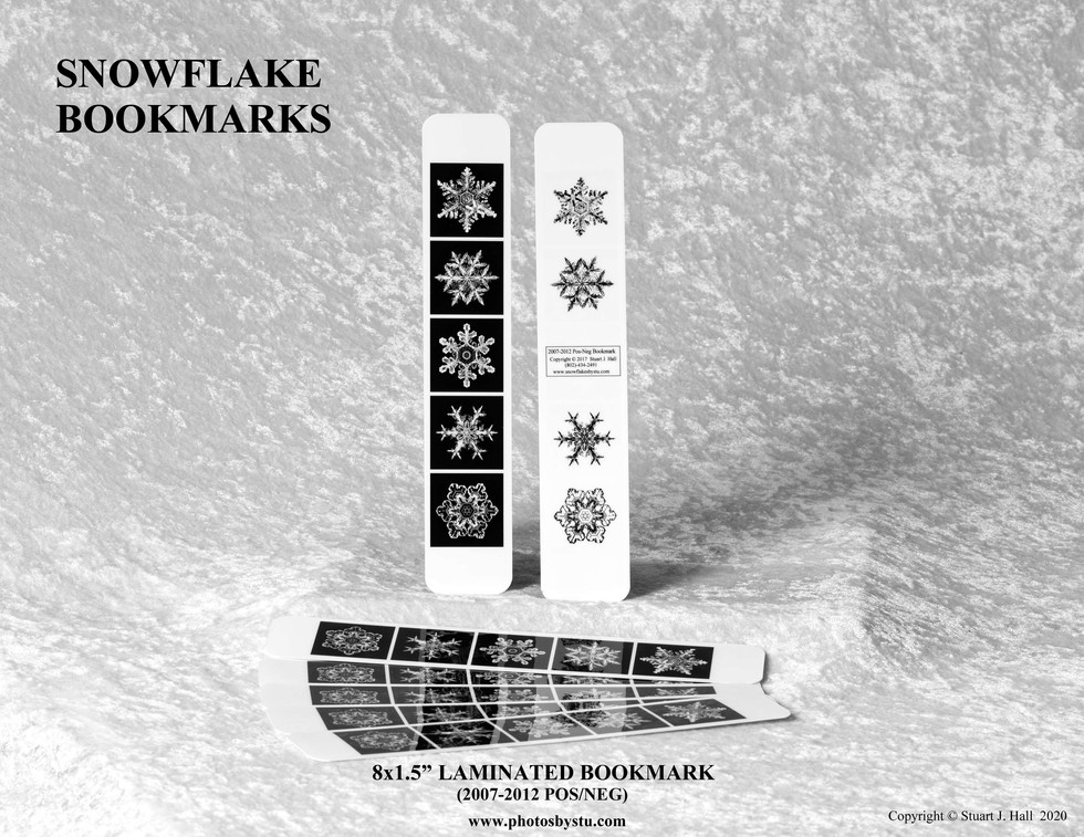 Snowflake Bookmarks