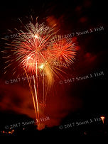 Hinesburg VT Fireworks
