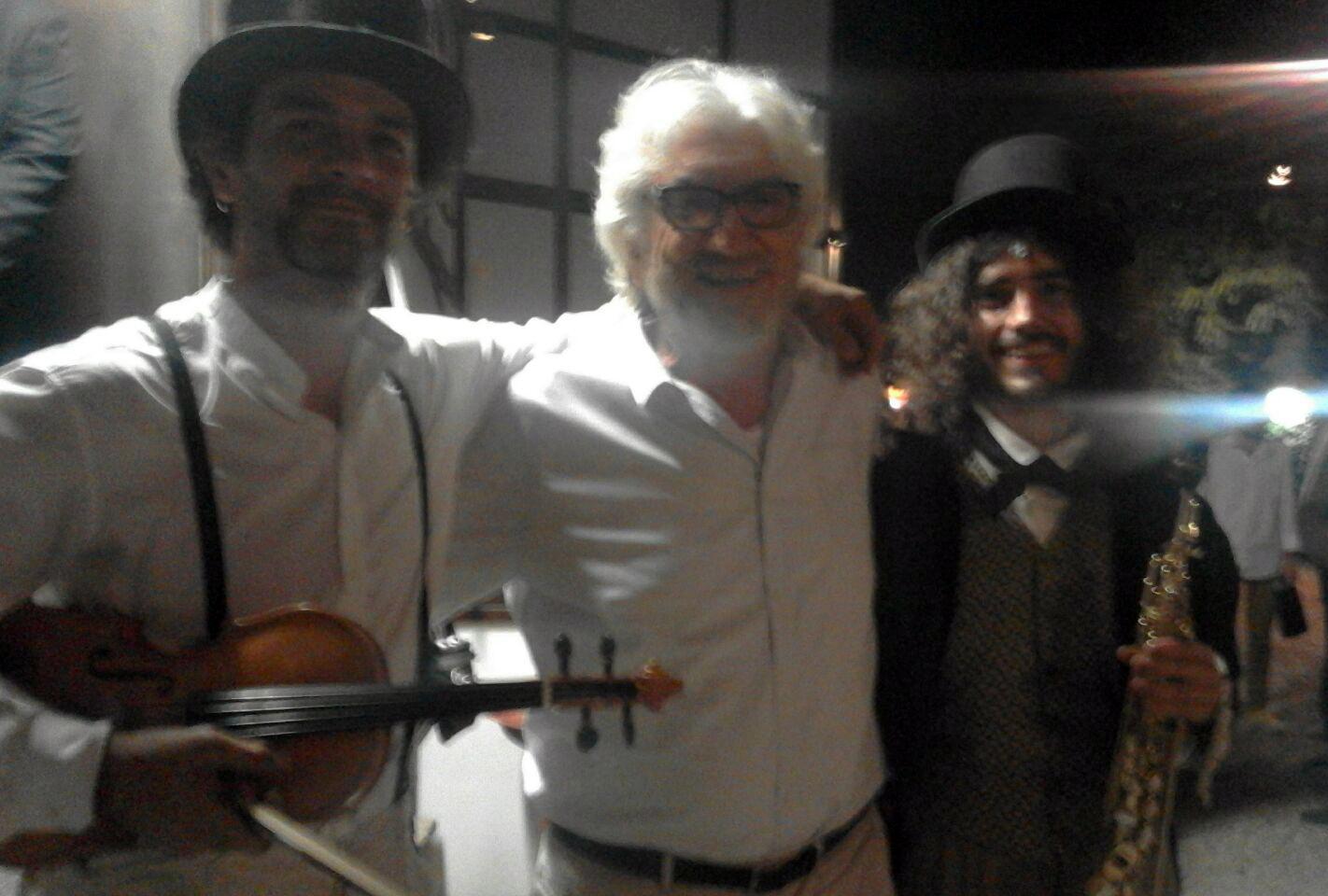 Con Gigi Proietti @ Globe Theatre