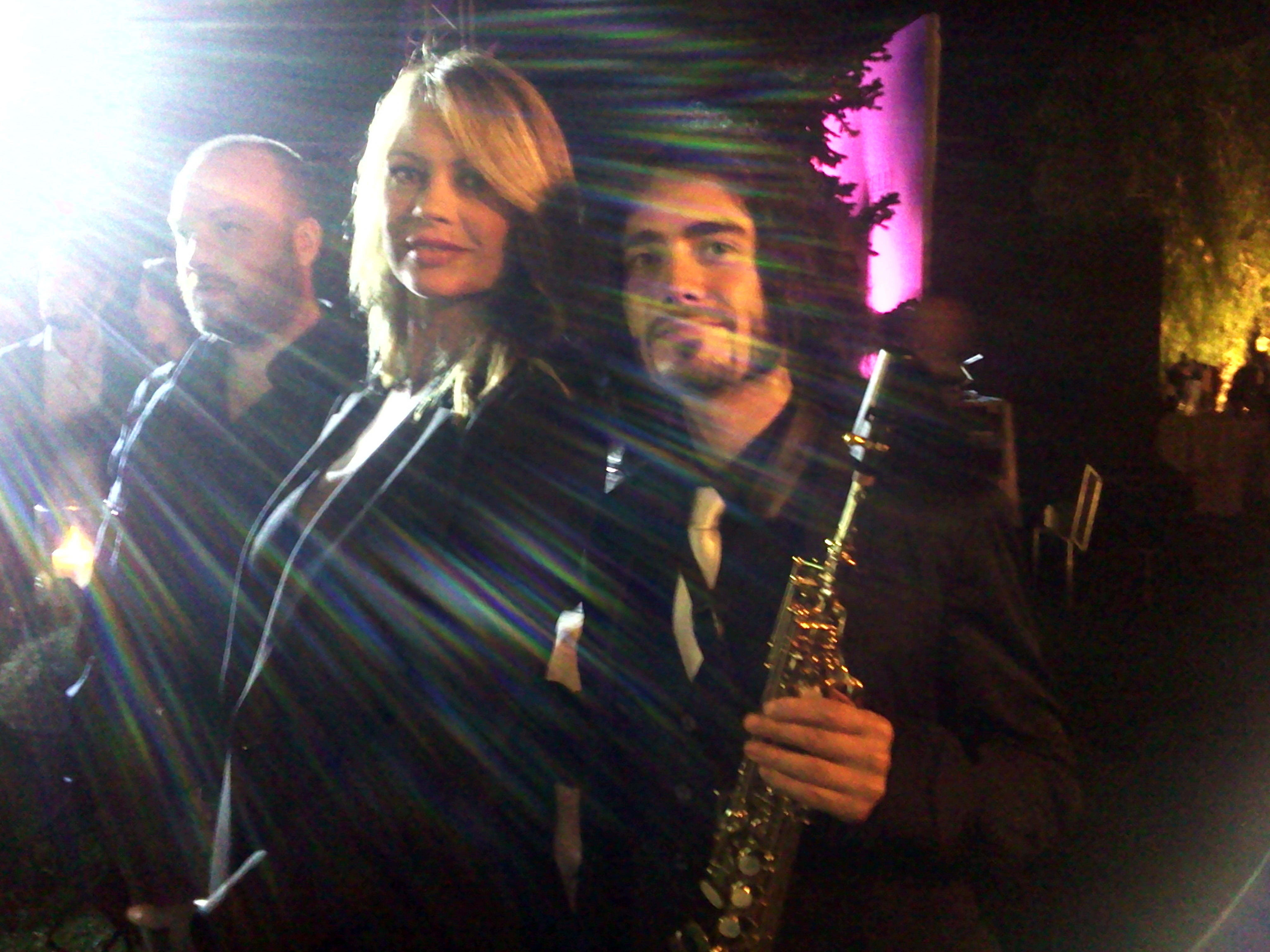 Con Anna Falchi per Celli