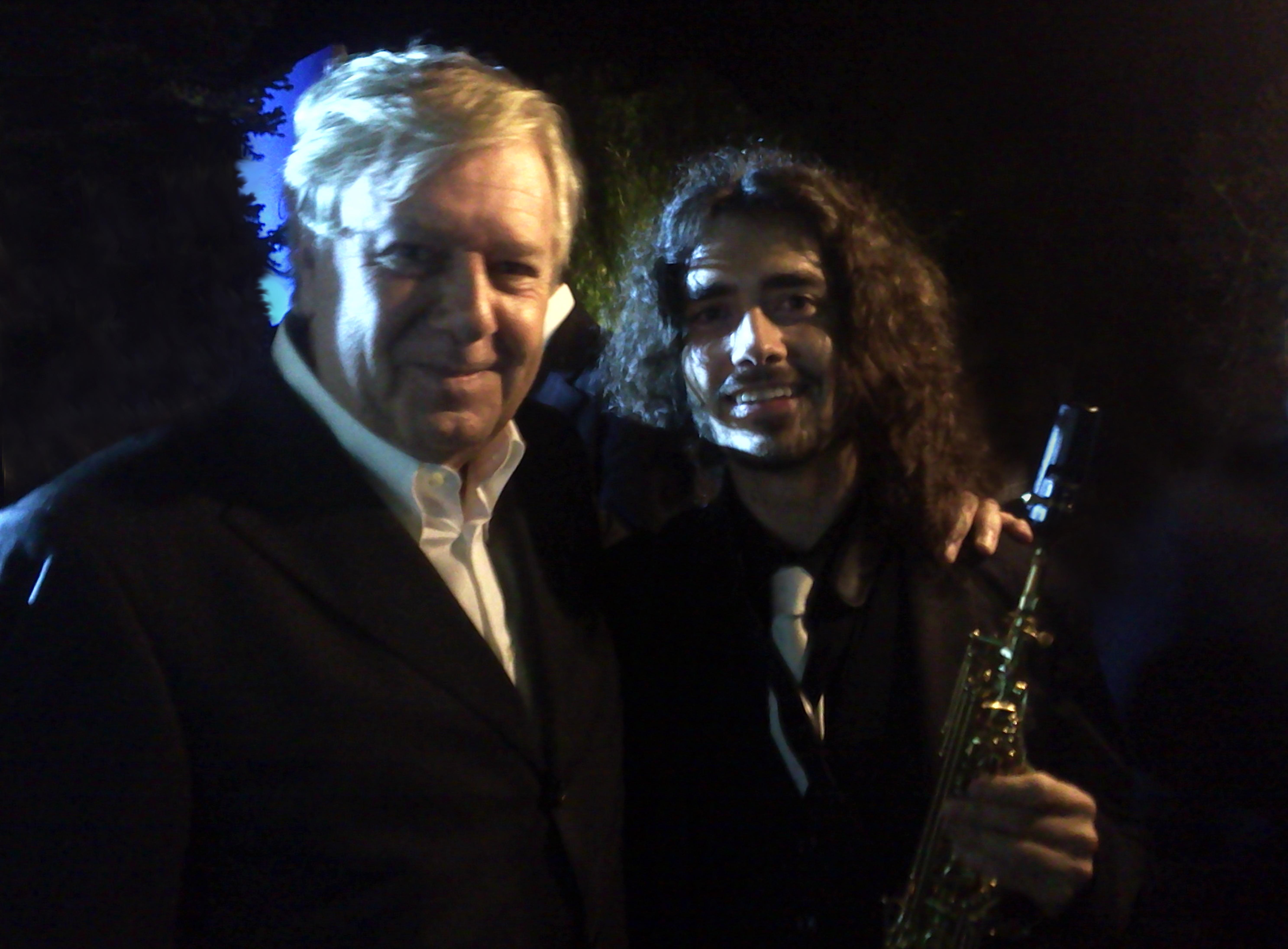 Con Claudio Lippi per Celli