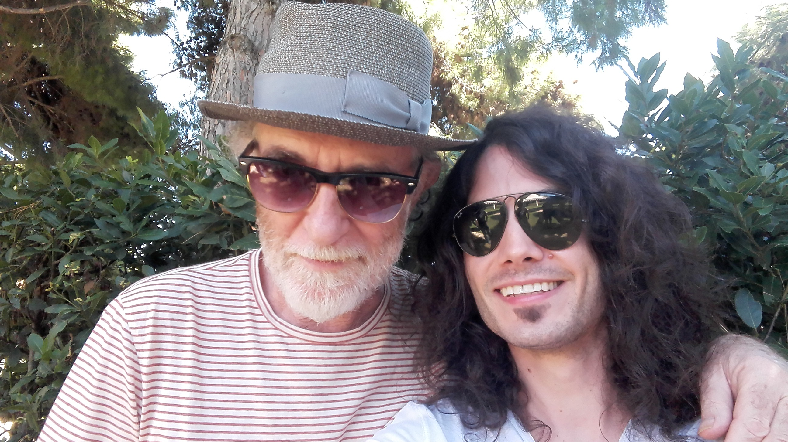 con Francesco De Gregori