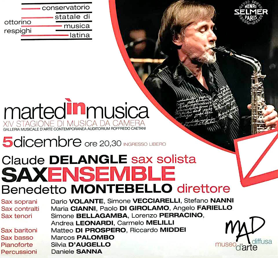 In concert with Claude Detangle