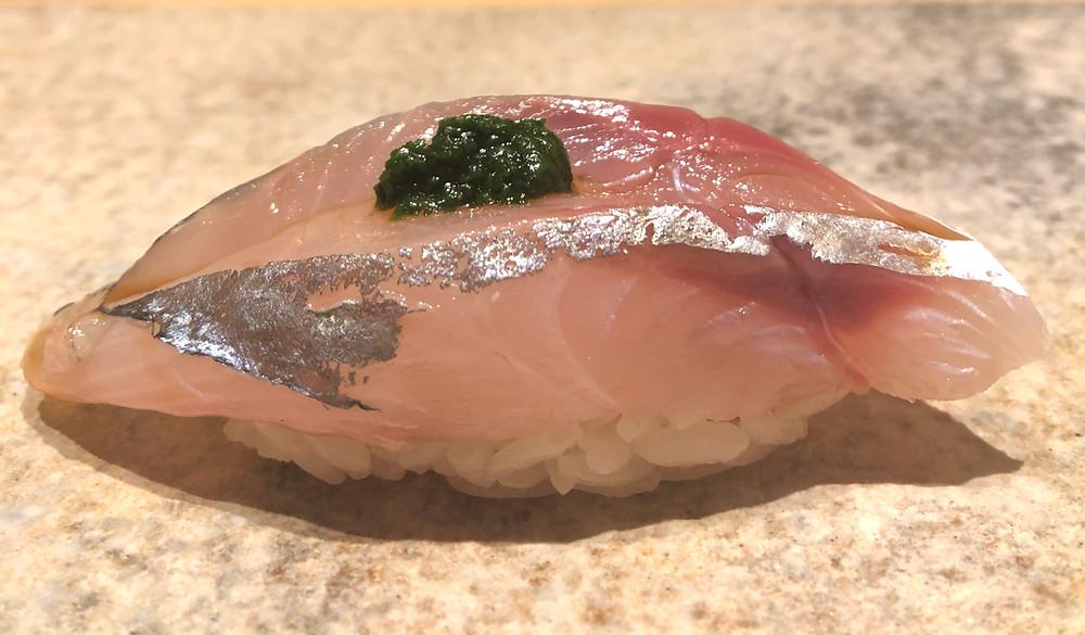 aji horse mackerel fish sushi