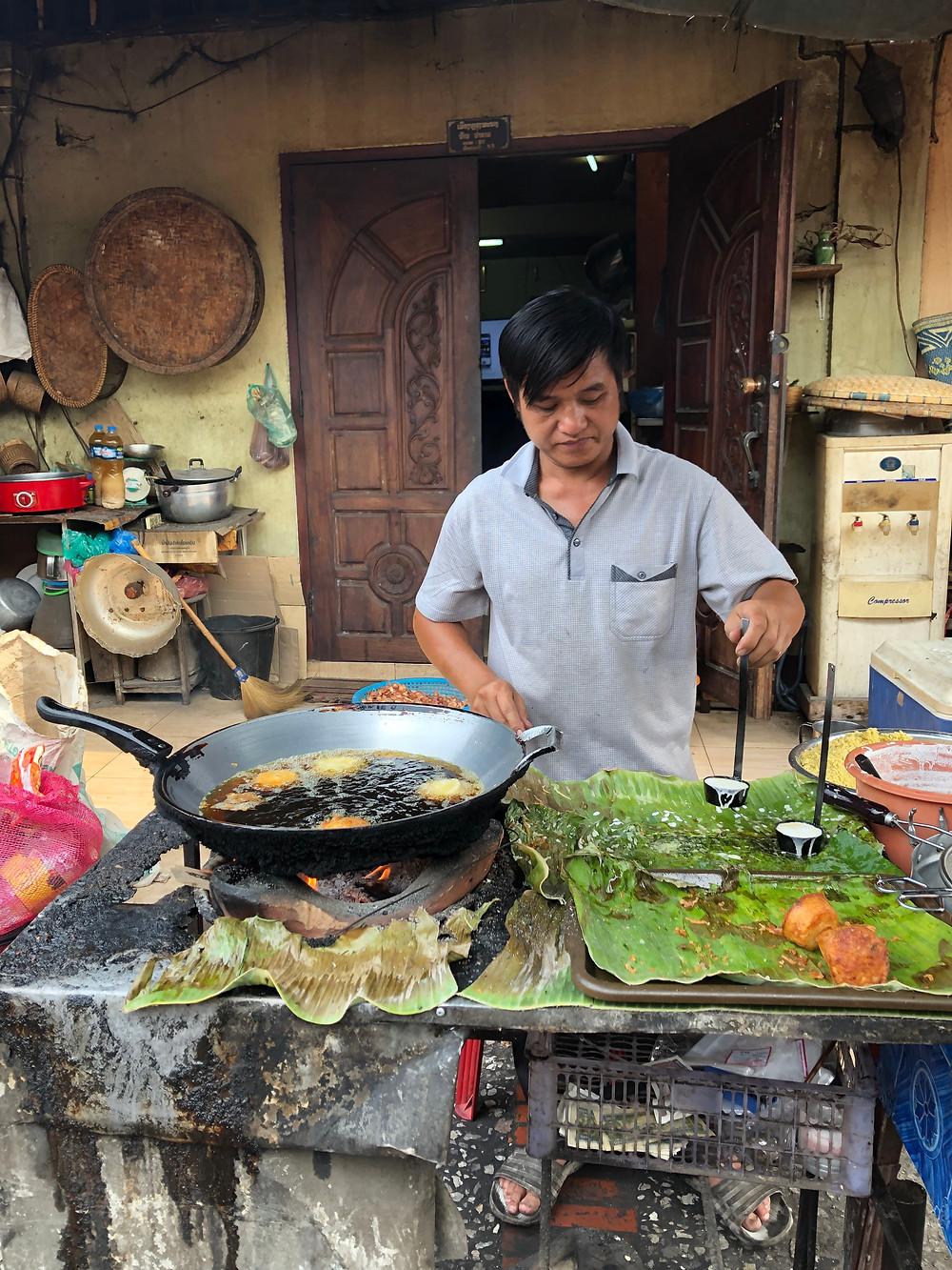 morning market laos luang prabang