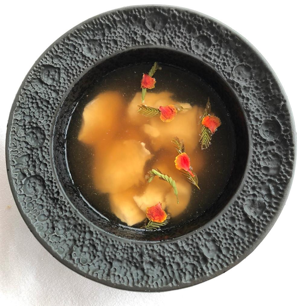 river fish soup