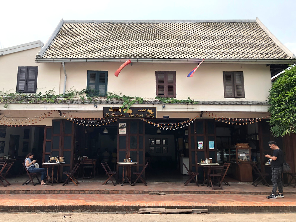 le banneton french coffee cafe laos luang prabang