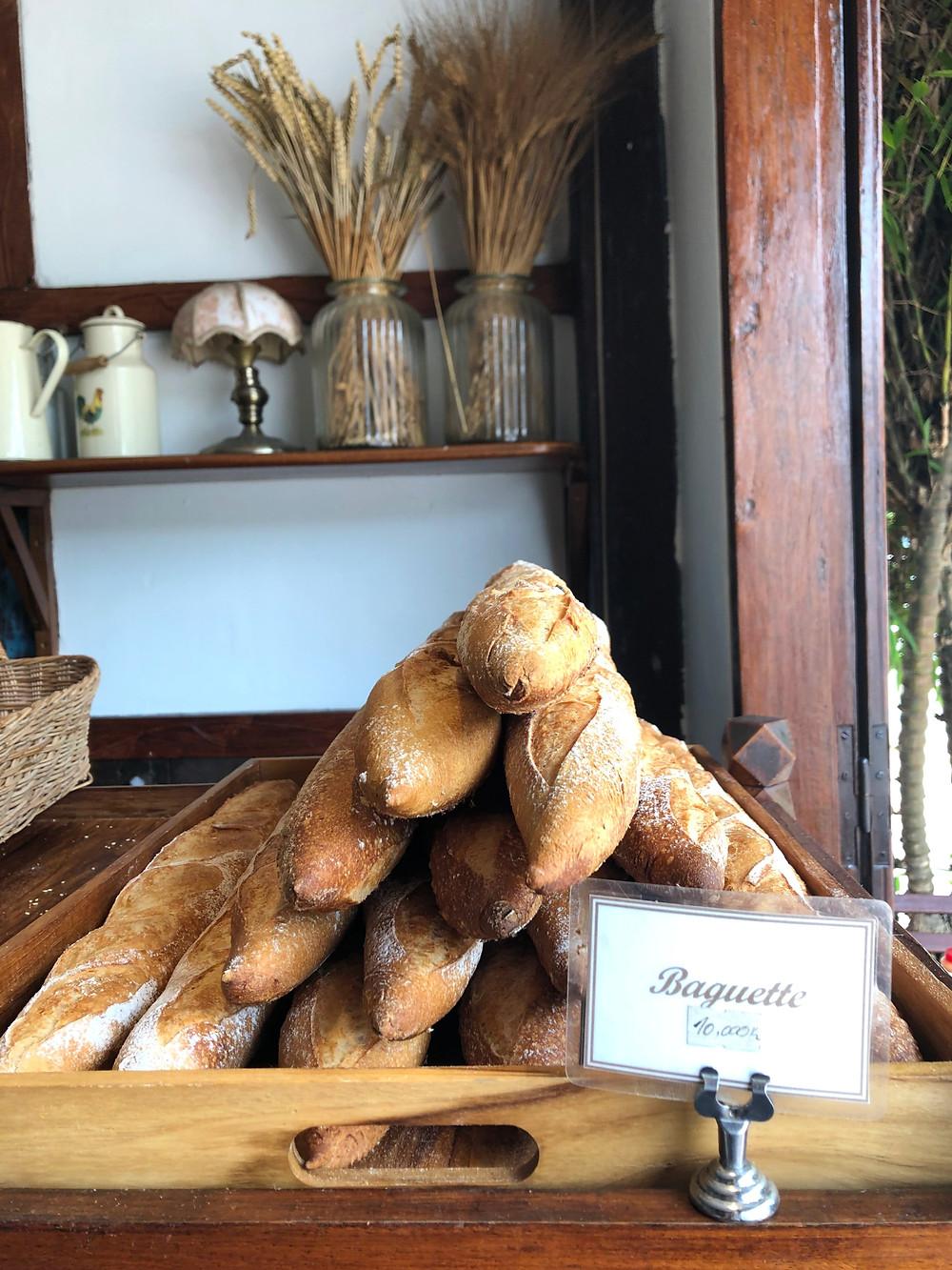 le banneton cafe laos luang prabang baguette bread