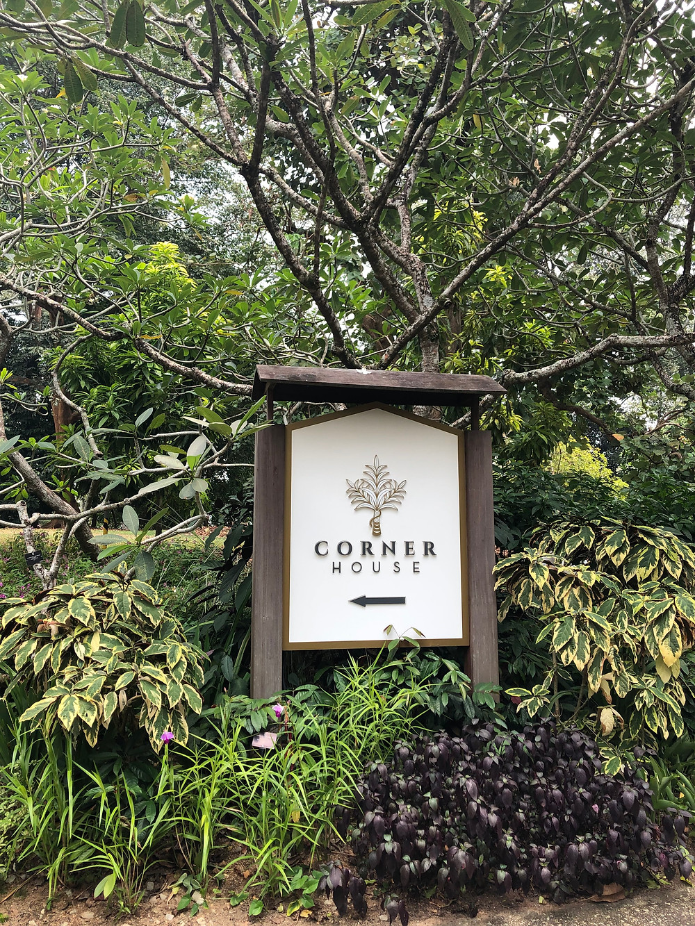 Corner House Michelin Singapore Botanic Gardens UNESCO