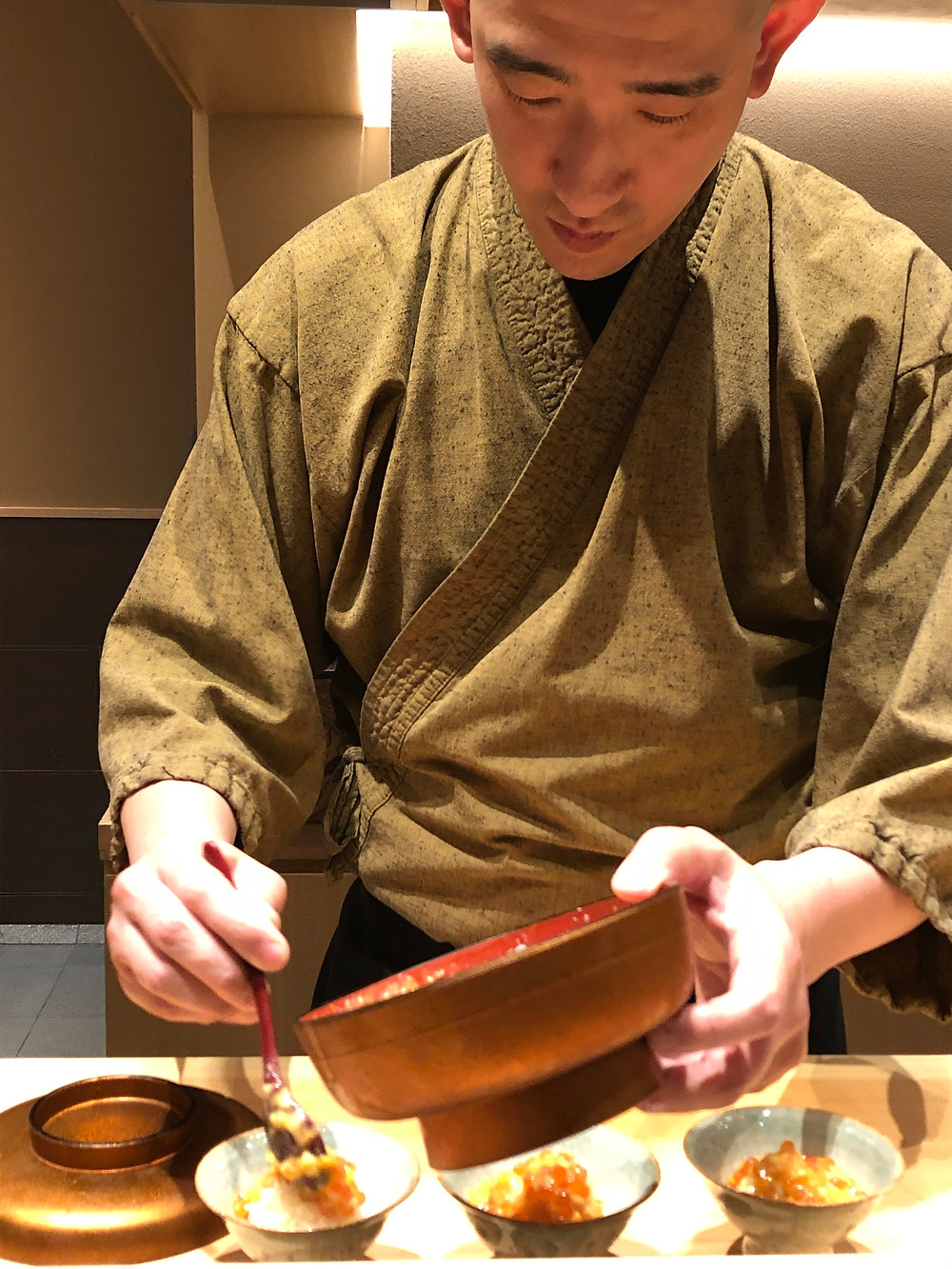 uni sea urchin rice bowl