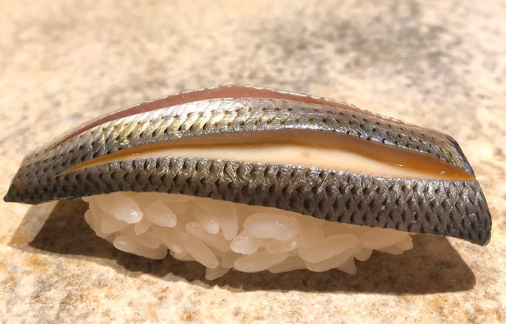kohada gizzard shard fish sushi