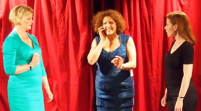 Heather Rome, Marnie Nash, Helen Cashin, Life, Edinburgh Fringe 2013