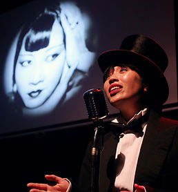 An Evening With Miss Wong - a cabaret / a theatre play with songs, about the tragic and wonderful life of Anna May Wong