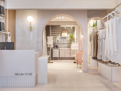 Vista do Interior da loja