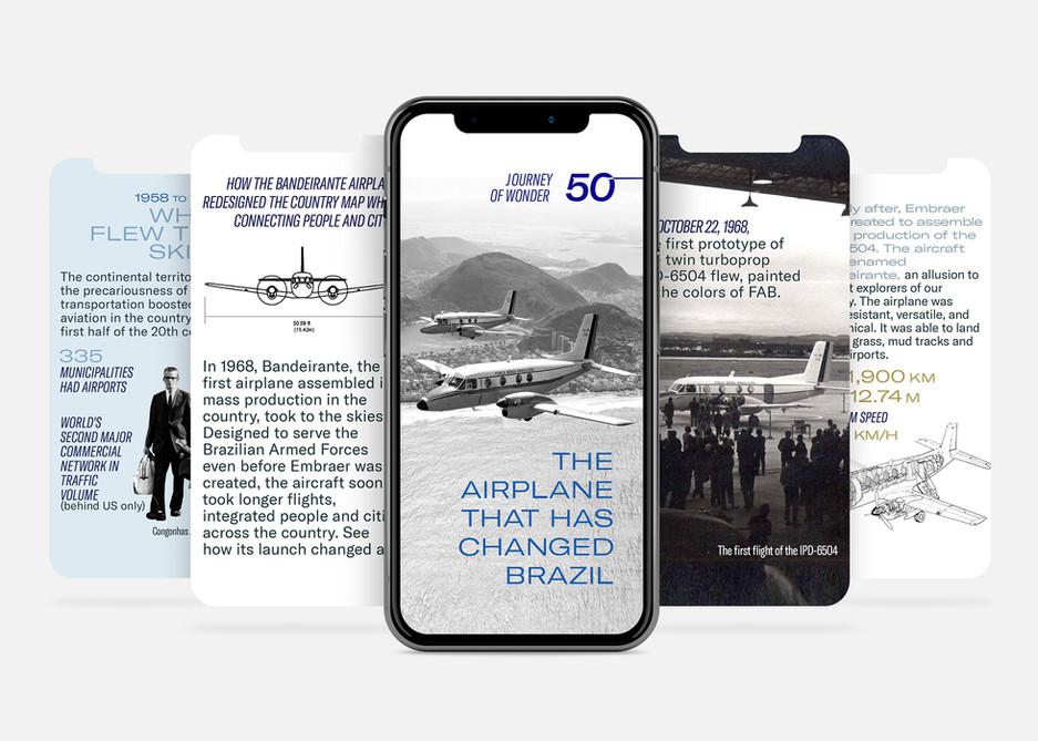 Bandeirante Embraer :: Mobile