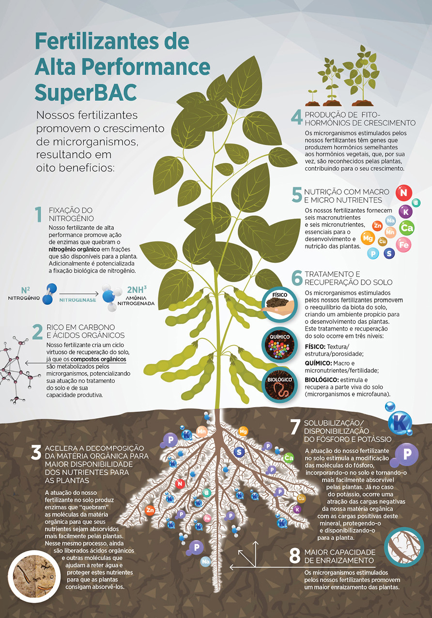 Fertilizantes SuperBAC