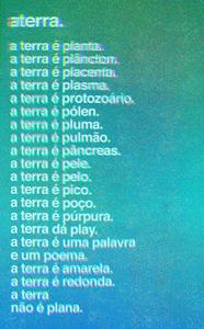 Poema de Simone Az. Pôster de Marcos de Lima