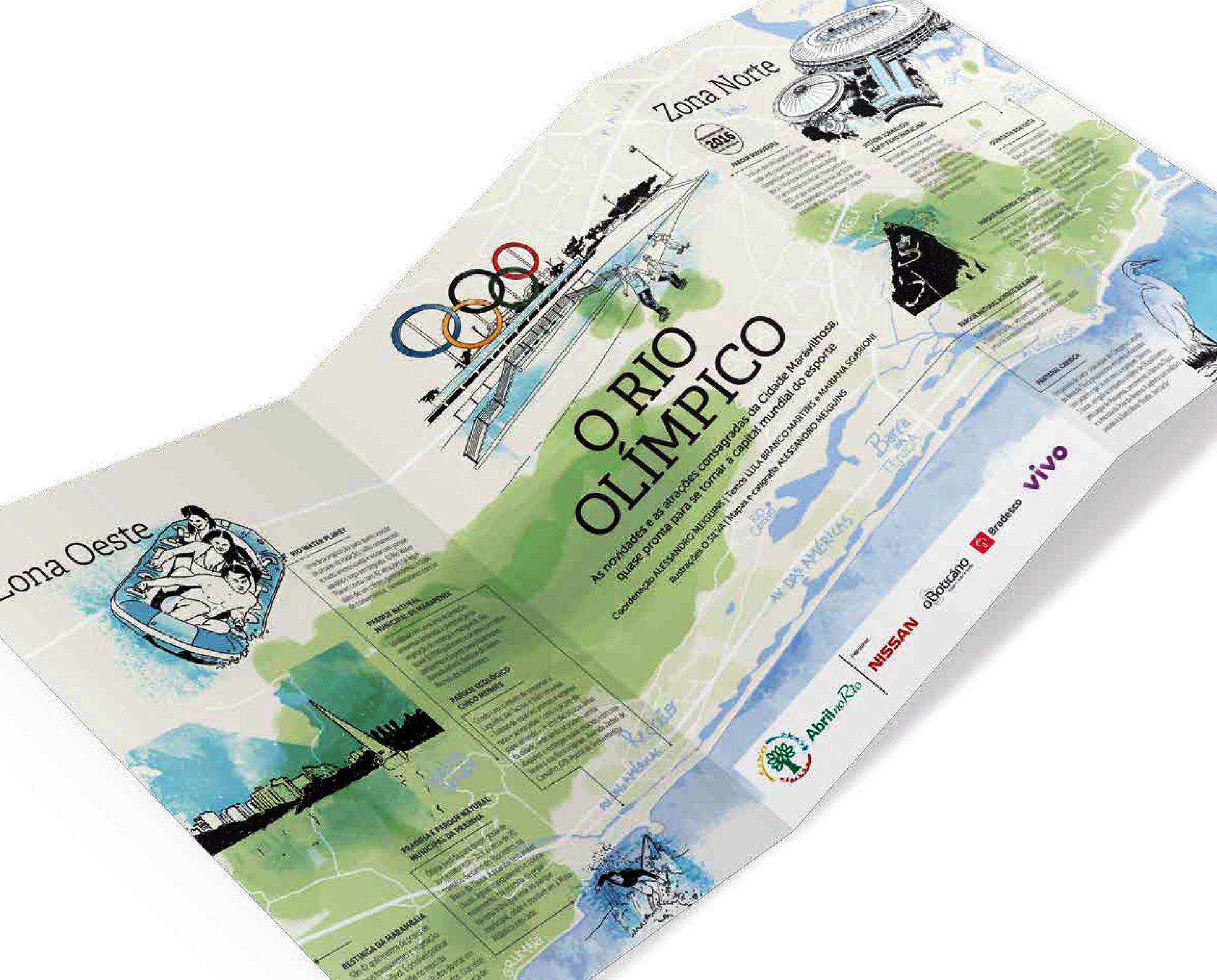 Atraçõe do Rio na Olimpíada do Brasil