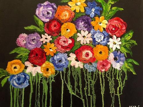Summer Bouquet at Night