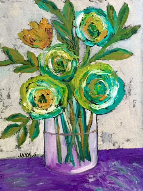 Viridian Flowers