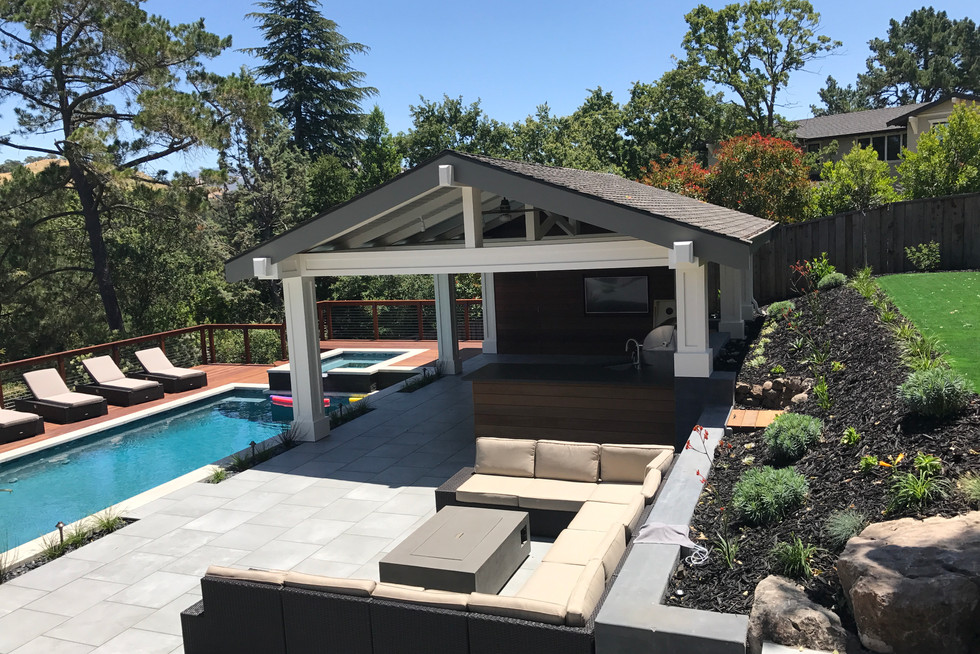 Hercules Pool - Paving Contractor - Pool