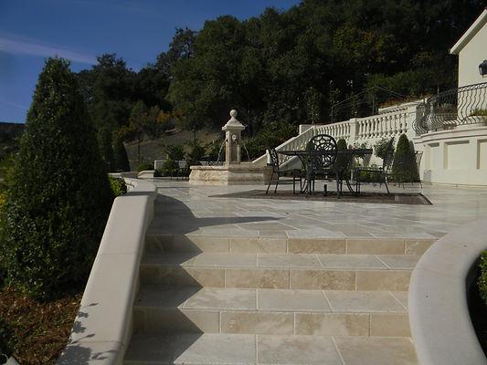 Expansive Natural Stone Patio Renovation