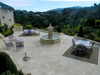 Expansive Natural Stone Patio Renovation