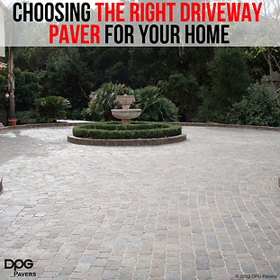 Choosing the Right Driveway Paver for Yo