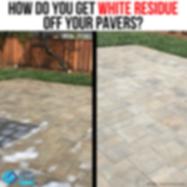 How Do You Get White Residue Off Your Pa