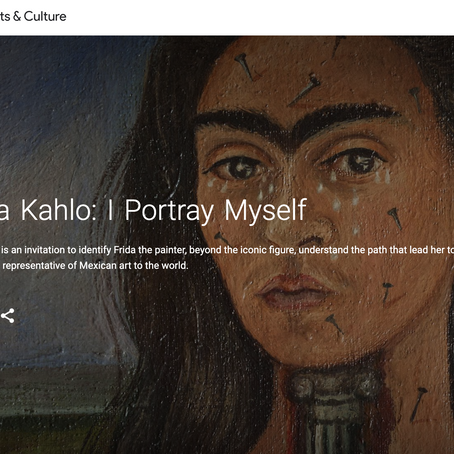Frida Kahlo: I Portray Myself