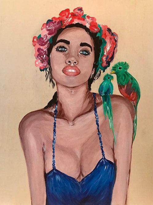 Quetzal Original Painting
