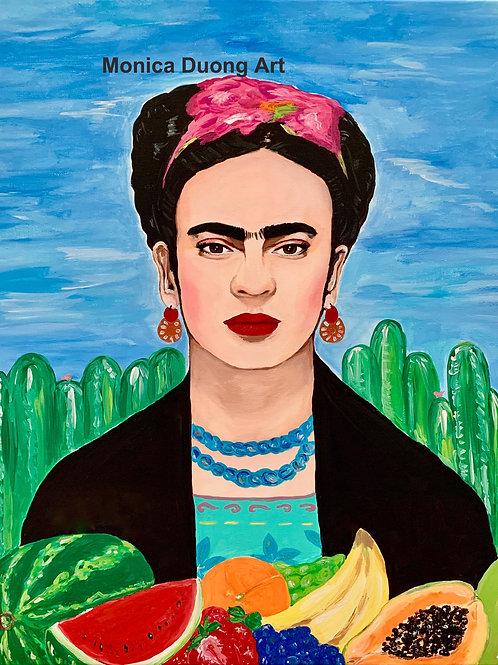 Fruits of Frida Painting