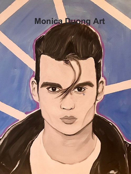 Cry baby Print