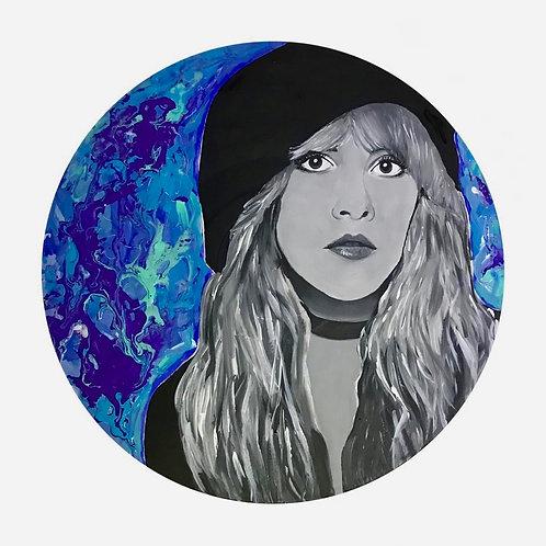 Stevie Nicks on Vinyl Record
