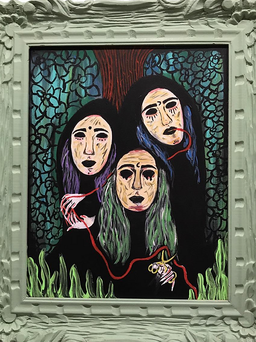 The Fates Original Painting