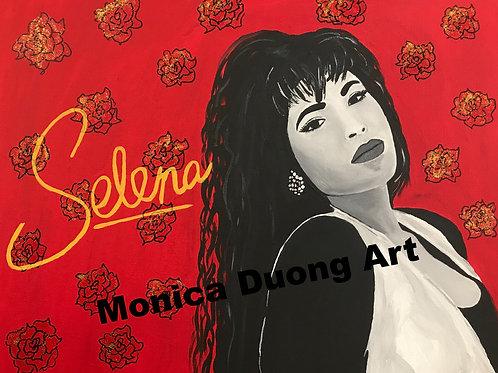 Selena Print