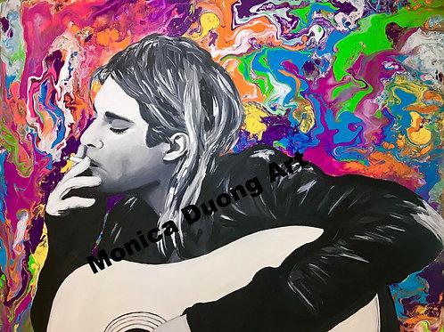 Kurt Cobain Original Painting