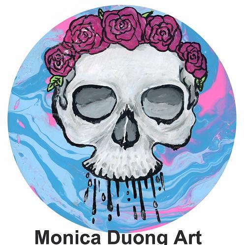 Skull Acid Print