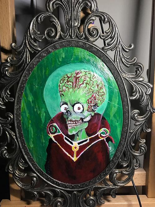 """""""Mars Attack""""Original Painting"""