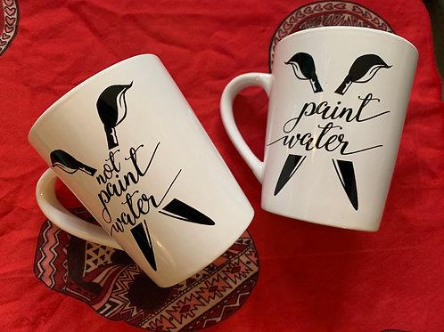 Paint Water Set Mugs