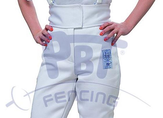 Schermbroek voor vrouwen FIE 800N Stretchfit