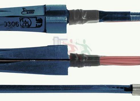 Elektrische Degen lemmet met punt - FIE - Maraging -   BF BLUE-PBT
