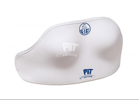 Zachte bescherming voor boven totale borst bescherming vrouw